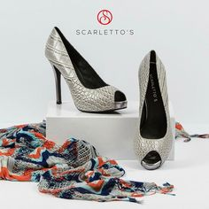 Look fab and be comfortable all day and night long in Scarletto's 'Gabriel'! Stilettos, Gabriel, Classic Style, Feminine, Ankle, Legs, Photo And Video, Night, Shoes