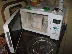 Fundición de metales en el horno de microondas