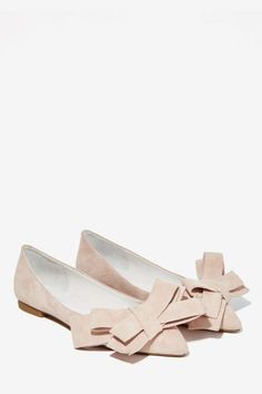 Jeffrey Campbell Ruston Suede Flat - Blush - Shoes | Slip On | Jeffrey Campbell
