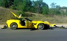 First customer owned 2014 Corvette Stingray crash.
