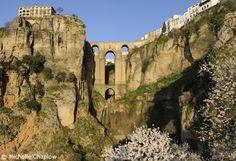'Puente Nuevo' spanning the gorge in Ronda de la Frontiera, between the moorish side and the reconquista side, was built in the 18 century