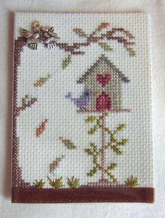 Birdhouse Autumn