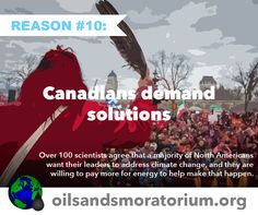 ALL 10 reasons are equally worthy! Stop #tarsands devastation at https://www.grrrowd.org/projects/draw-the-line-against-tar-sands-devastation/ Inspired by http://www.oilsandsmoratorium.org
