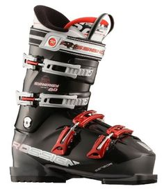 Rossignol Synergy Sensor 80 Ski Boots Sz 11.5 (29.5) by Rossignol. $284.95. Rossignol Synergy Sensor 80 Ski Boots BlackKey Features of The Rossignol Synergy Sensor 80 Ski Boots:  Internal last: forefoot width: 102mm  Flex index: 80  Shell - Polyolefin + Sensor concept  Cuff: Polyolefin  Removable sole plate  HARD PU  4 Micro buckles in 100% aluminum  Diagonal buckle  Adjustable catches: 4th Quickset 3 positions 3rd: 3 position  Canting  Power strap: 34 mm  Bi In...