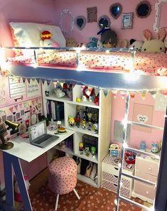 4 Asian Home Decor Ideas Cute Room Ideas, Cute Room Decor, Room Ideas Bedroom, Diy Bedroom Decor, Home Decor, Bed Room, Army Room Decor, Kawaii Bedroom, Gamer Room