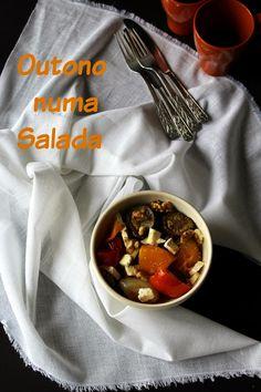 Dona Delícia - Atelier de Sabores: O Outono numa salada