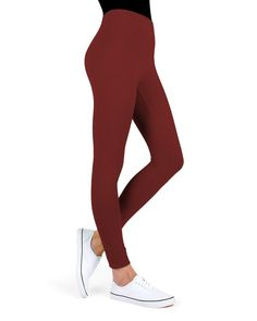 MeMoi Cotton-Blend Yoga Pants will spot you for your most serious workouts without breaking a seam or a sweat. Cotton blend in fashion and basic colors will effortlessly keep up with your workouts, bend with you during yoga asana, and get low during your crossfit classes. These yoga pants also look great with sneakers for a quick casual outfit, even if all you're running is errands. Want to see more? Explore the entire collection of Women's leggings by MeMoi. | Cotton-Blend Yoga Pants… Cotton Leggings, Women's Leggings, Black Leggings, Crossfit Classes, Yoga Pants Outfit, Black Yoga, Over 50 Womens Fashion, Sport Pants, Leotards