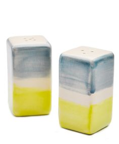 Sea Stroke Salt & Pepper Set from Leif