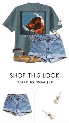"""""""CLEMSON WON!!!!🏈"""" by flroasburn ❤ liked on Polyvore featuring Levi's, J.Crew and Birkenstock"""