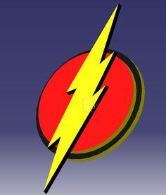 The Flash Logo #barryallen #flash #dccomics #engineering