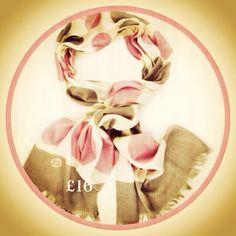 Love new season scarves