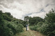 An Edwardian wedding dress for a woodland handfasting - photography by Kat Hill.