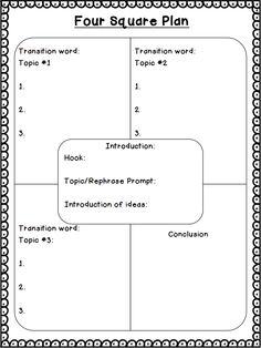 Worksheet Four Square Writing Worksheets a well four square and graphics on pinterest 5 paragraphs writing technique all materials lessons already downloaded in my