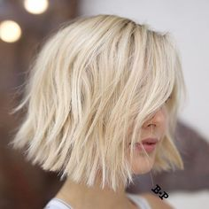 In love with this textured bob ❤️ @buddywporter @andrewkyle #regram #americansalon