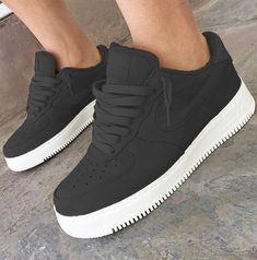 Nike Air Force one's Nike Air Shoes, Sneakers Nike, Crazy Shoes, Me Too Shoes, Sneakers Fashion, Fashion Shoes, Hype Shoes, Shoes Uk, Fresh Shoes