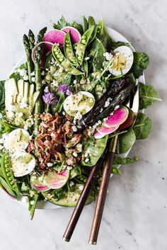 Spring Cobb Salad | The Modern Proper