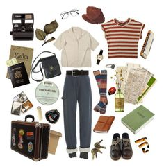 """Lotus journey"" by olddirtycity ❤ liked on Polyvore featuring Rosie Assoulin, Humör, Dr. Martens, Jil Sander, Free People, Bed