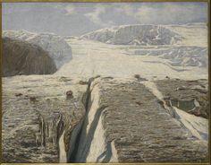 Emilio Longoni (1859-1932), Glacier - 1906