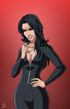 Nocturna (Earth-27) commission by phil-cho.deviantart.com on @DeviantArt