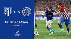 Champions League - Cuartos de Final (Ida): Atlético de Madrid 1 - Leicester City FC 0 -