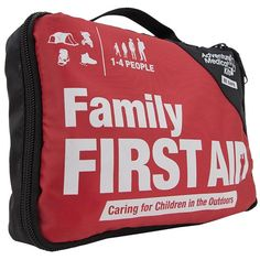 Family First Aid Kit - While most family kits are designed to be kid-friendly, it is important not to forget the people who will be caring for their little ones in the outdoors, from picnics at the park to hikes in the wilderness. The centerpiece of the Adventure First Aid Family Kit is the fully-updated new edition of Caring for Children in the Outdoors, a comprehensive guide to first-aid for children, covering topics such as how to treat sprains, fractures, and dislocations, plus handy…