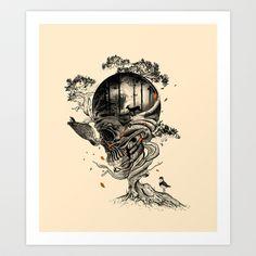 Lost Translation Art Print by Nicebleed - $19.00