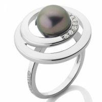 Bague Collection Perles de Culture argent et or