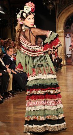Moda Flamenca | Por Elena Rivera vía Mamá de Mayor Quiero Ser Flamenca.