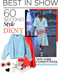 """""""NYFW: 60-Second Style: Best in Show"""" by elske88 ❤ liked on Polyvore"""