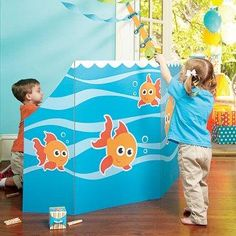 Don't miss out on our Ocean Party Party Supplies! You can throw them a Ocean Party that is out of this world! Birthday Express will provide you with all the materials you need to make it happen. Spring Carnival, Kids Carnival, School Carnival, Carnival Games, Carnival Ideas, Boy Birthday Parties, Birthday Party Decorations, 3rd Birthday, Birthday Ideas