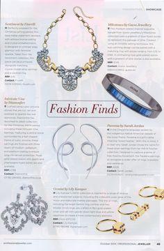 Diamonfire in Professional Jeweller, October 2014