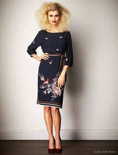 Shop Leona Edmiston designer print frock dresses online from the Official Leona Edmiston eBoutique. Frock Dress, Timeless Fashion, Frocks, Dresses Online, Print Design, Cold Shoulder Dress, High Neck Dress, My Style, How To Wear