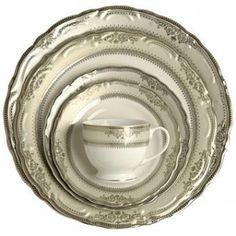 Vanessa Platinum Dinnerware