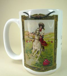 A Cowgirl Stole My Heart 15 oz. Mug by Cowbelles on Etsy, $14.00