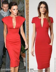 Sure She Could Use A Cheeseburger But Noone Gets The Dress Better Than Posh