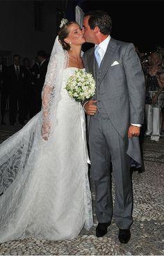 Prince Nikolaos of Greece and Tatiana Blatnik On 25 August 2010 Prince Nikolaos of Greece married Tatiana Blatnik married in Spetses.
