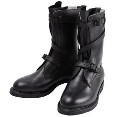 "Dehner ""Strap Tank Boot""【Black/Dragoon】#Dehner Boots"