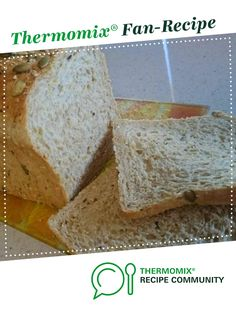 Jumbo Wholemeal Multigrain Bread Loaf – Thermomumma by _b_e_v_. A Thermomix ® r… Jumbo Wholemeal Multigrain Bread Loaf – Thermomumma by _b_e_v_. A Thermomix ® recipe in the category Breads & rolls on www.recipecommuni…, the Thermomix ® Community. Bread Machine Recipes, Bread Recipes, Multigrain Bread Recipe, Bread Improver, Healthy Cream Cheese, Thermomix Bread, English Muffin Bread, Bread Packaging, Kitchens
