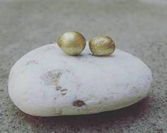 #handmadeearrings #so cute #bronzebeads #minimal #handmadejewelery