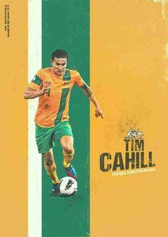 Tim Cahill of Australia wallpaper.