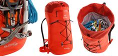 an early look at the new Arc'teryx Alpha FL alpine climbing pack Backpacking Tips, Hiking Gear, Camping Gear, Outdoor Camping, Outdoor Gear, Alpine Climbing, Ice Climbing, Rucksack Backpack, Hiking Backpack