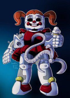 FNAF Sl - Evil Circus Baby by LadyFiszi