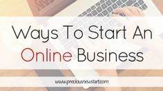 Ways To Start An Online Business! Starting an online business amy seem like a daunting task, but this article aims to show you that starting a business online from home is possible, and share some ways you can do so! Well worth a read!