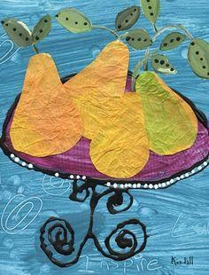 Cézanne paper still life art project.peeling pears/ sweet juice drips/ from the knife blade. Paul Cezanne, Cezanne Art, Kindergarten Art, Preschool Art, 2nd Grade Art, Artist Project, Ecole Art, School Art Projects, Art Lessons Elementary