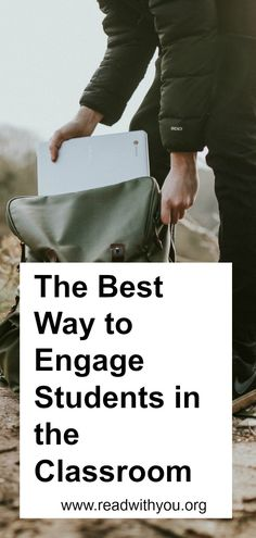 The best way to engage students in the classroom. Keep students motivated with this classroom technique. Great idea for teachers. #readwithyoupresents #engagestudents #educate #teachers