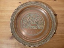 Copper charger Fine  MIDDLE EASTERN PERSIAN CAIROWARE MAMLUK REVIVAL