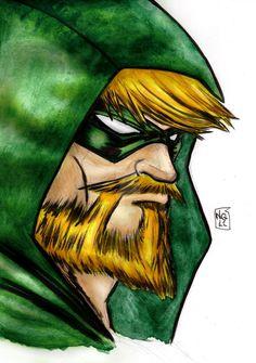 Green Arrow by nic011.deviantart.com on @DeviantArt
