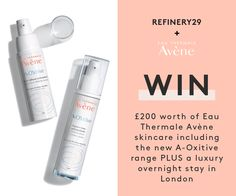 Enter to win goodies from Avene!