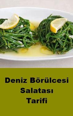 Deniz Börülcesi Salatası – Fashion and Street Styles on Internet Turkish Recipes, Ethnic Recipes, Sea Beans, Turkish Kitchen, Cajun Recipes, Spinach Recipes, Bean Salad, Seaweed Salad, Green Beans