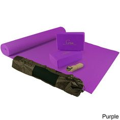 @Overstock - Sivan Health and Fitness Yoga Kit - Get fit and find inner and outer peace using this Essentials yoga kit. The kit includes a sturdy mat with a carry bag, 2 yoga foam blocks and a strap to help you get started practicing yoga in the comfort of your own home.  http://www.overstock.com/Health-Beauty/Sivan-Health-and-Fitness-Yoga-Kit/9245090/product.html?CID=214117 $19.99